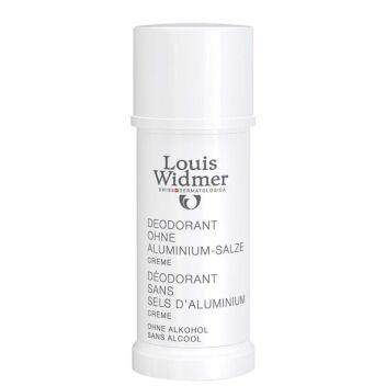 LOUIS WIDMER DEO CREAM ALUMINIUM SALTS FREE HAJUSTEETON 40 ML
