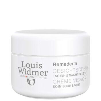 LOUIS WIDMER REMEDERM FACE CREAM HAJUSTETTU 50 ML