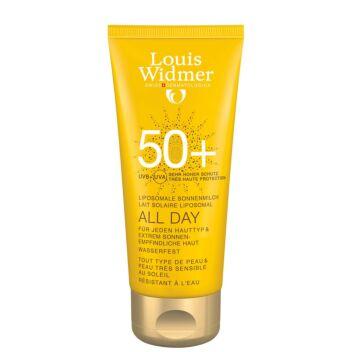 LOUIS WIDMER SUN ALL DAY SPF50+ HAJUSTEETON 100 ML