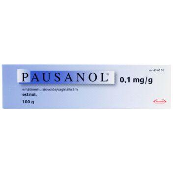 PAUSANOL 0,1 MG/G EMÄTINEMULSIOVOIDE C APPLIC 100 g