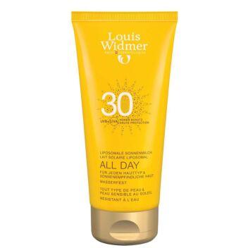 LOUIS WIDMER SUN ALL DAY SPF30 HAJUSTEETON 100 ML