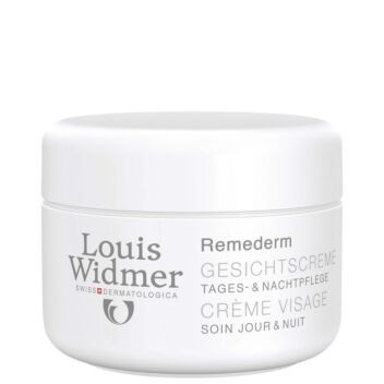 LOUIS WIDMER REMEDERM FACE CREAM HAJUSTEETON 50 ML