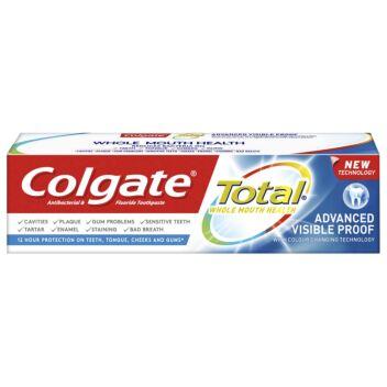 COLGATE TOTAL ADVANCED VISIBLE PROOF HAMMASTAHNA 75 ML