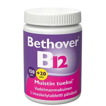 BETHOVER 1 MG B12-VITAMIINI TABL 150+20 kpl