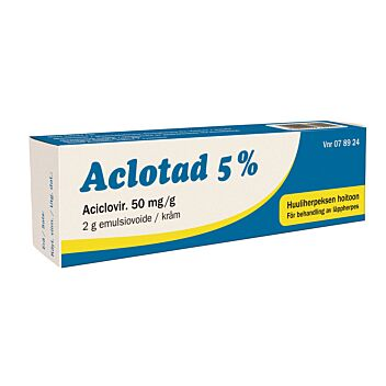 ACLOTAD 5 % EMULSIOVOIDE 2 g