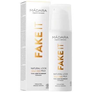 MADARA FAKE IT NATURAL LOOK SELF TAN MILK 150 ML