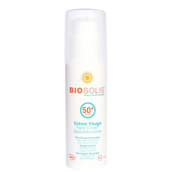 BIOSOLIS SUN FACE CREAM SPF50+ 50 ML