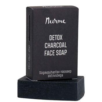 NURME DETOX CHARCOAL FACE SOAP 100 G