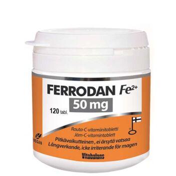 FERRODAN FE2+ 50 MG TABL 120 KPL