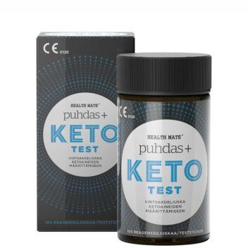 PUHDAS+ KETO TEST KETOOSITESTILIUSKA 100 KPL