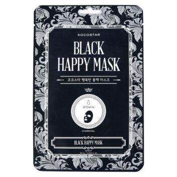KOCOSTAR BLACK HAPPY MASK 1 KPL