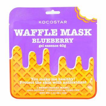 KOCOSTAR WAFFLE MASK BLUEBERRY 1 KPL