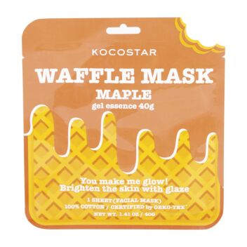 KOCOSTAR WAFFLE MASK MAPLE 1 KPL