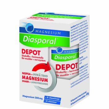 DIASPORAL MAGNESIUM DEPOT + B-VITAMIN. COMPLEX TABL 30 KPL
