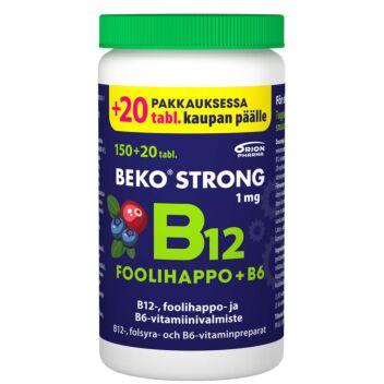 BEKO STRONG B12+FOOLIHAPPO+B6 MUSTIKKA-KARPALO PURUTABL 170 kpl
