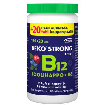BEKO STRONG B12+FOOLIHAPPO+B6 PURUTABL 170 KPL