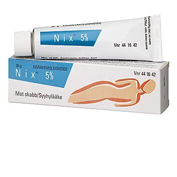 NIX 5 % EMULSIOVOIDE 30 g