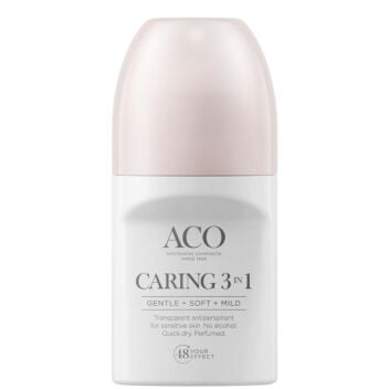 ACO BODY DEO CARING 3 IN 1 50 ML