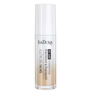 ISADORA SKIN BEAUTY PERFECTING & PROTECTING FOUNDATION 02 LINEN 30 ML
