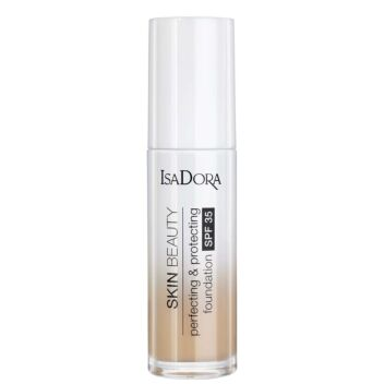 ISADORA SKIN BEAUTY PERFECTING & PROTECTING FOUNDATION 04 SAND 30 ML