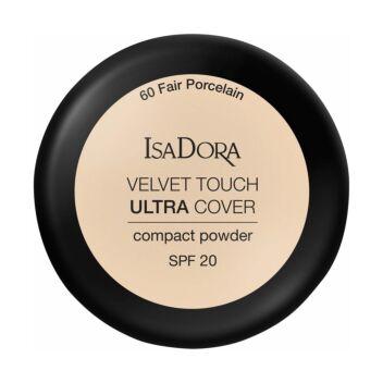 ISADORA VELVET TOUCH ULTRA COVER COMPACT POWDER SPF20 60 FAIR PORCELAIN 7,5 G