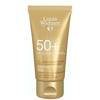 LOUIS WIDMER SUN PROTECTION FACE ANTI-AGE 50+ HAJUSTEETON 50 ML