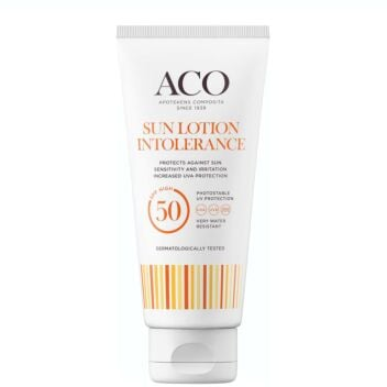 ACO SUN LOTION INTOLERANCE SPF50 100 ML