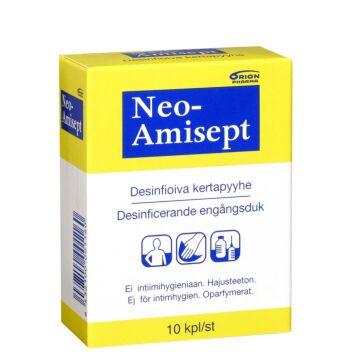 NEO-AMISEPT DESINFIOIVA KERTAPYYHE 10 KPL