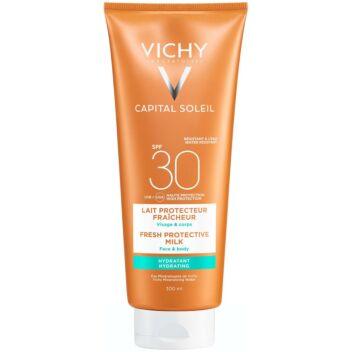 VICHY CAPITAL SOLEIL FRESH PROTECTIVE MILK SPF30 300 ML