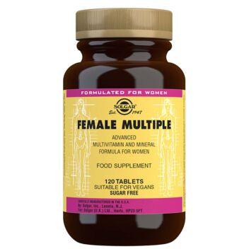 SOLGAR FEMALE MULTIPLE MONIVITAMIINITABL 120 KPL