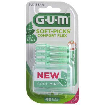 GUM SOFT-PICKS COMFORT FLEX MEDIUM 40 kpl