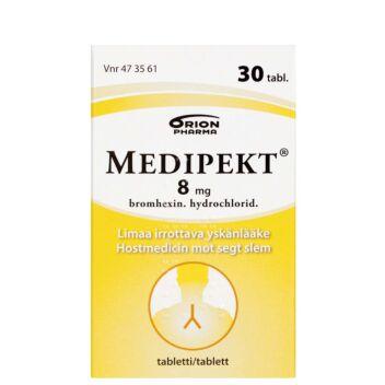 MEDIPEKT 8 MG TABLETTI 30 kpl