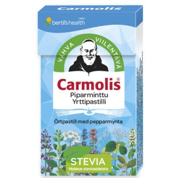CARMOLIS YRTTIPASTILLI PIPARMINTTU 45 G