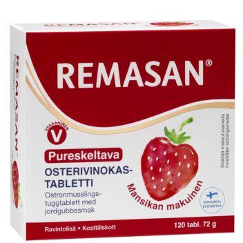 REMASAN PURESKELTAVA OSTERIVINOKASTABLETTI TABL 120 KPL