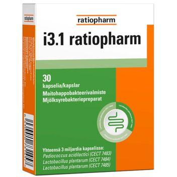 I3.1 RATIOPHARM KAPS 30 KPL