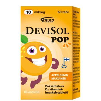 DEVISOL POP 10 MIKROG TABL 60 KPL