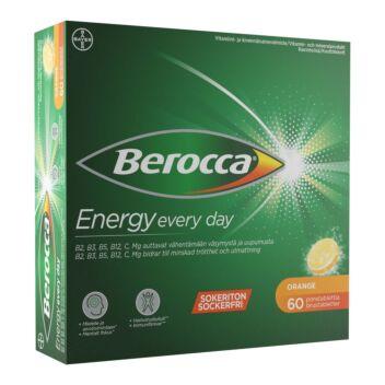 BEROCCA ENERGY ORANGE PORETABL 60 kpl