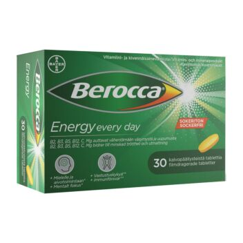 BEROCCA ENERGY TABL 30 kpl