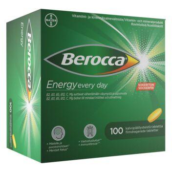 BEROCCA ENERGY TABL 100 kpl