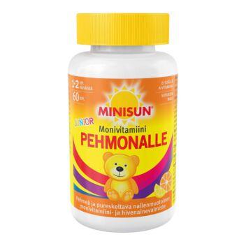MINISUN PEHMONALLE SITRUS MONIVITAMIINI JUNIOR 60 kpl