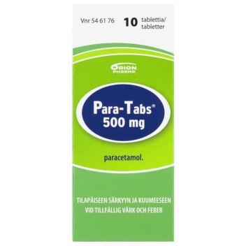 PARA-TABS TABLETTI 500MG