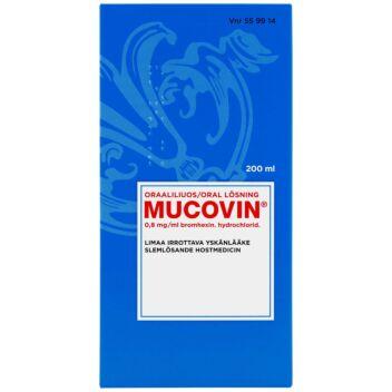 MUCOVIN 0,8 MG/ML SUUN KAUTTA OTETTAVA LIUOS 200 ml