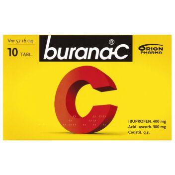 BURANA-C TABLETTI 400MG