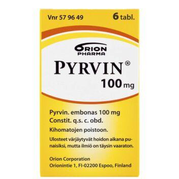 PYRVIN TABLETTI 100MG