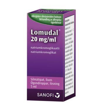 LOMUDAL SILMÄTIPAT 20MG/ML